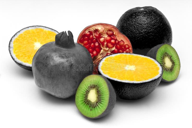 Todavía vida de la fruta madura foto de archivo