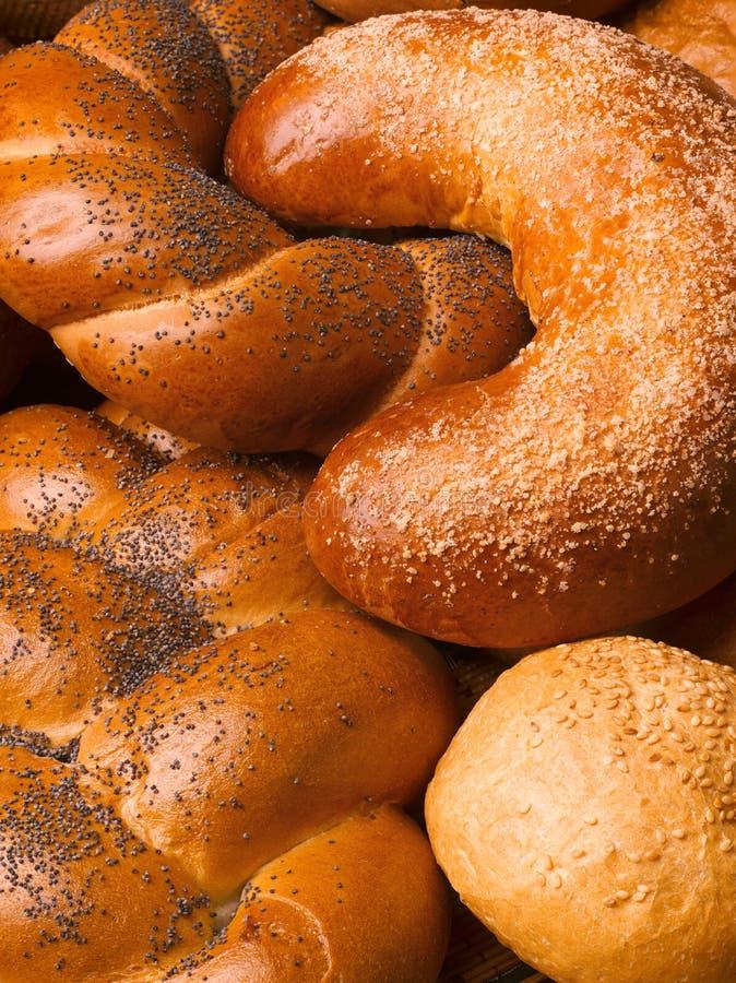 Todavía vida del pan, panes fotografía de archivo libre de regalías