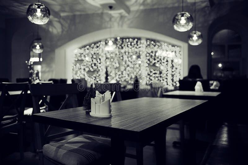 Todavía vida en restaurante fotos de archivo