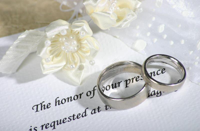 Todavía Wedding vida imágenes de archivo libres de regalías