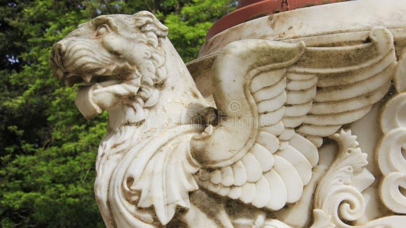 Todav?a vida 1 Arte de Lion With Wings Topical Local imágenes de archivo libres de regalías