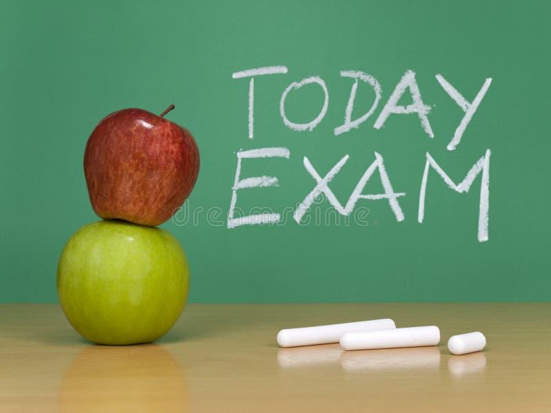 Today Exam Stock Photo