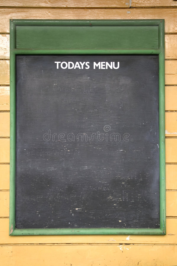 Today's Menu royalty free stock images