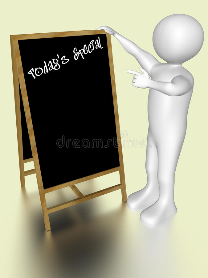 Download Today's Special Blackboard Royalty Free Stock Photo - Image: 15637315