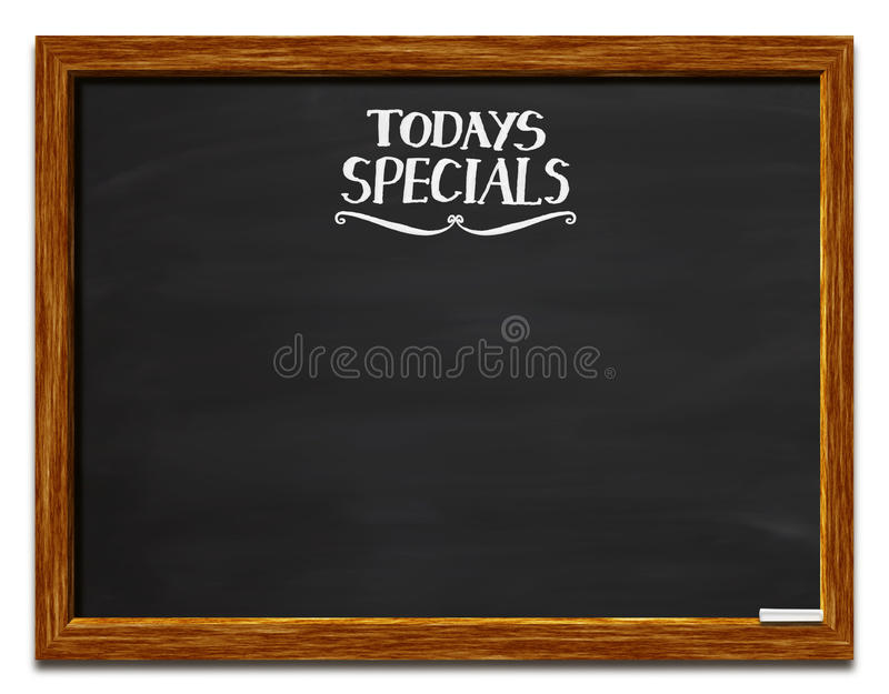 Download Today's specials stock photo. Image of black, illustration - 16930296