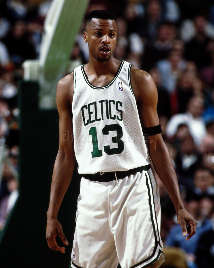 Todd Day Boston Celtics imagenes de archivo