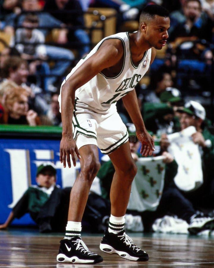 Todd Day, Celtics de Boston image libre de droits