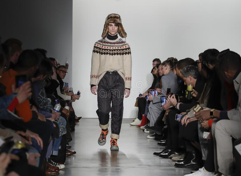 Todd Snyder FW 2020 stock photography