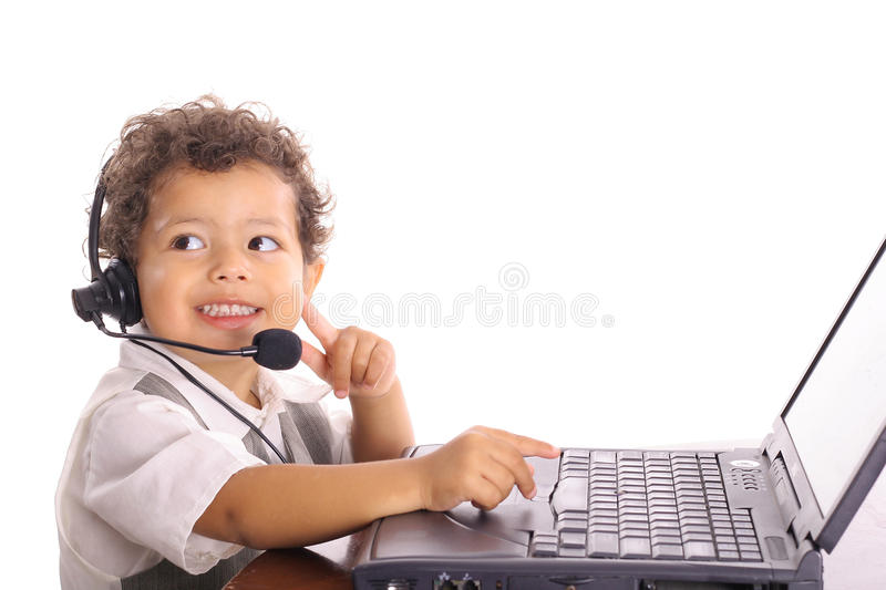 Toddler baby business stock photography