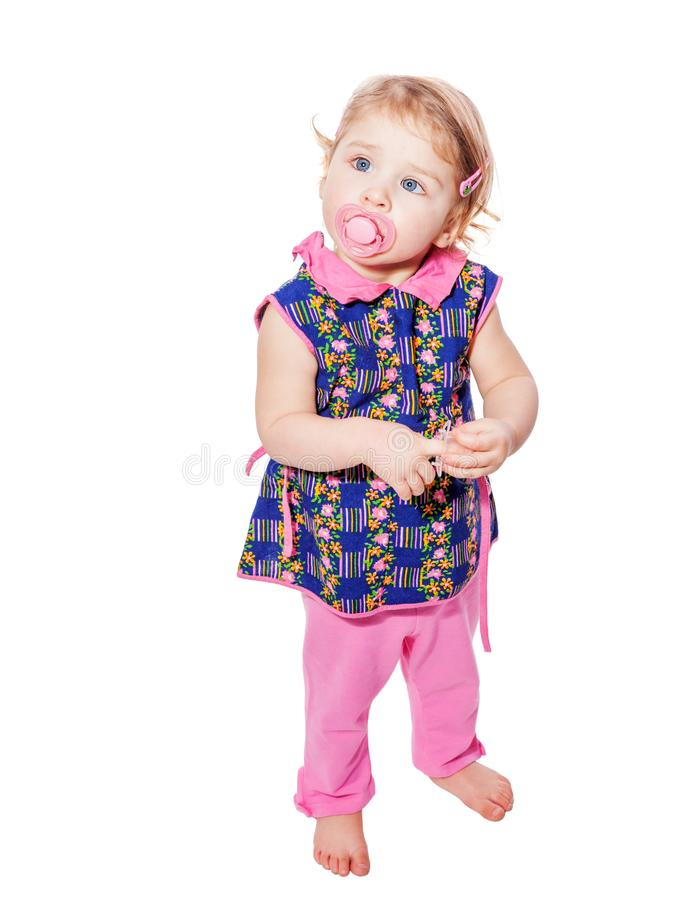 Toddler girl royalty free stock images