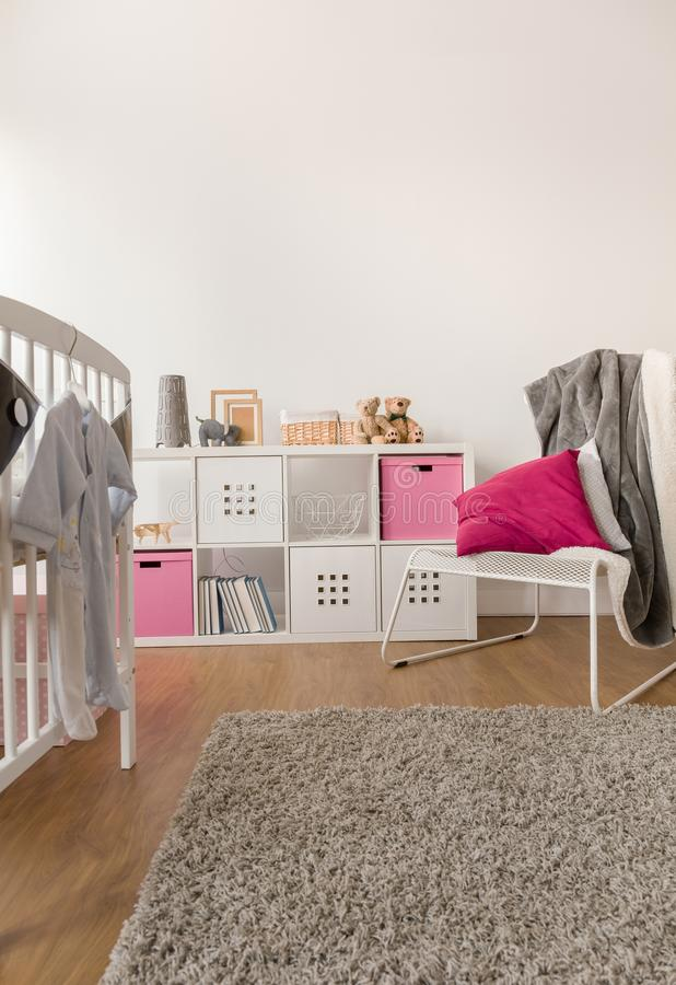 Toddler girl room royalty free stock photography