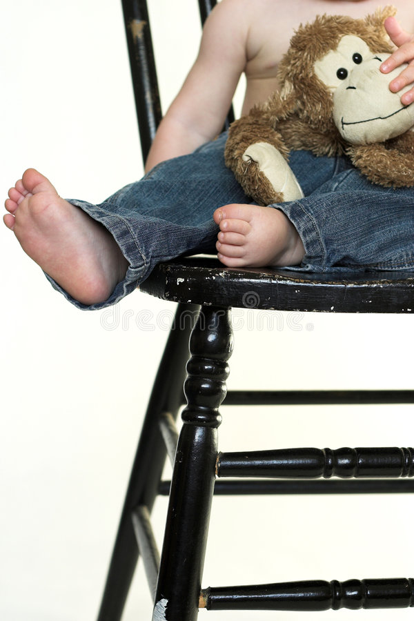 Download Toddler Legs stock photo. Image of perfection, denim, feet - 2613732