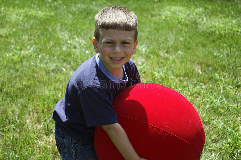 Download Toddler Lifting Ball stock photo. Image of expression, lifting - 17398