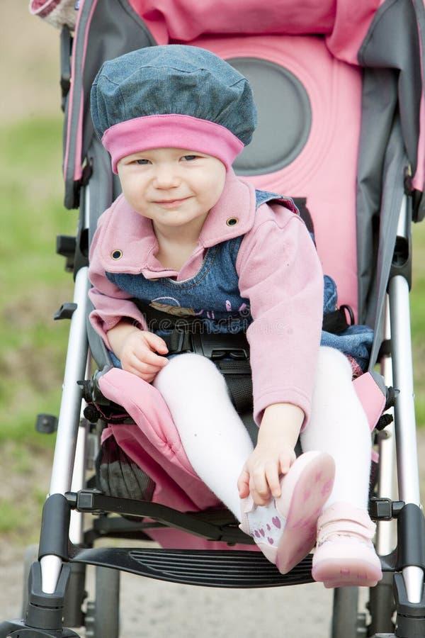 Download Toddler In Pram Royalty Free Stock Image - Image: 12837256