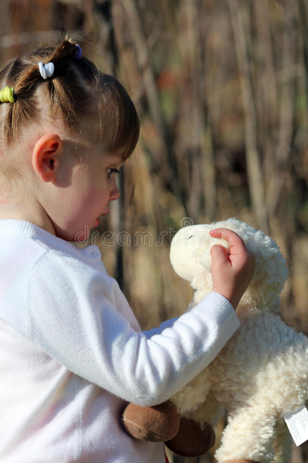 Download Toddler With Toy stock image. Image of photograph, easter - 24362119