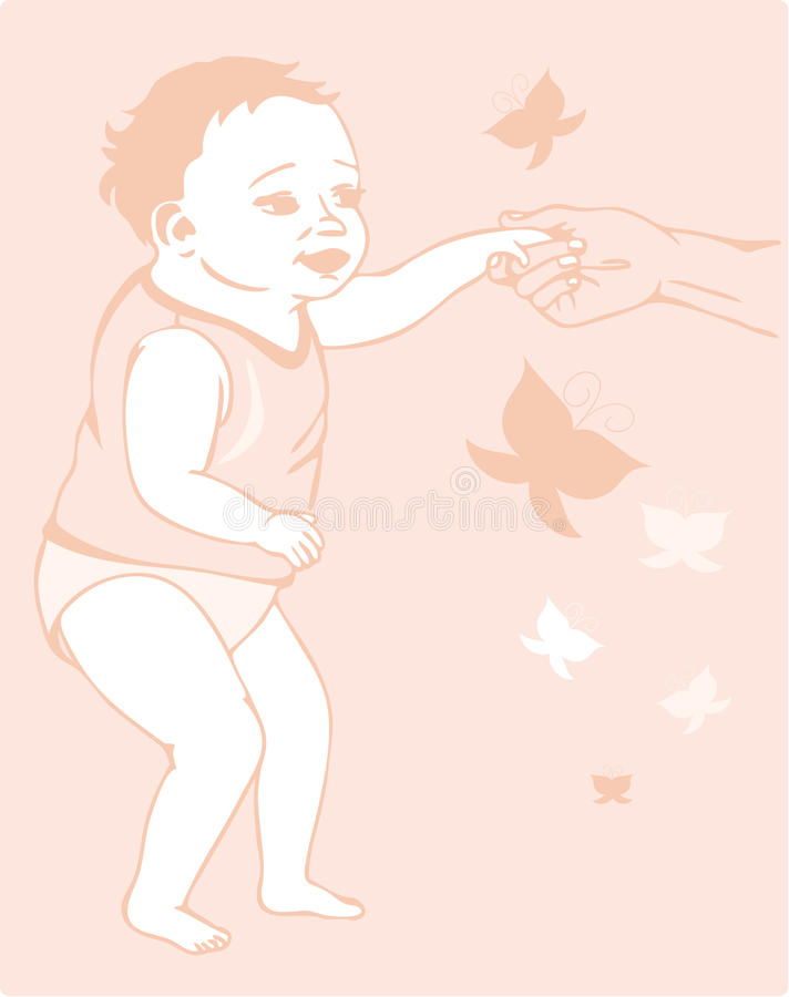 Download Toddler Vector Royalty Free Stock Photo - Image: 13071525