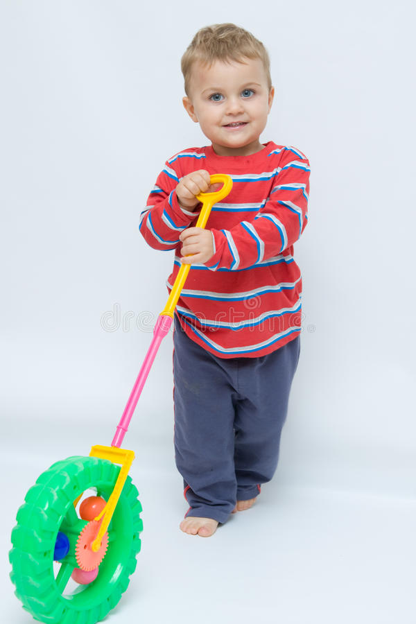Toddlers toys royalty free stock photos