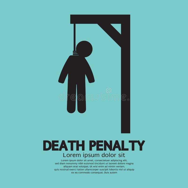 Todesstrafe stock abbildung
