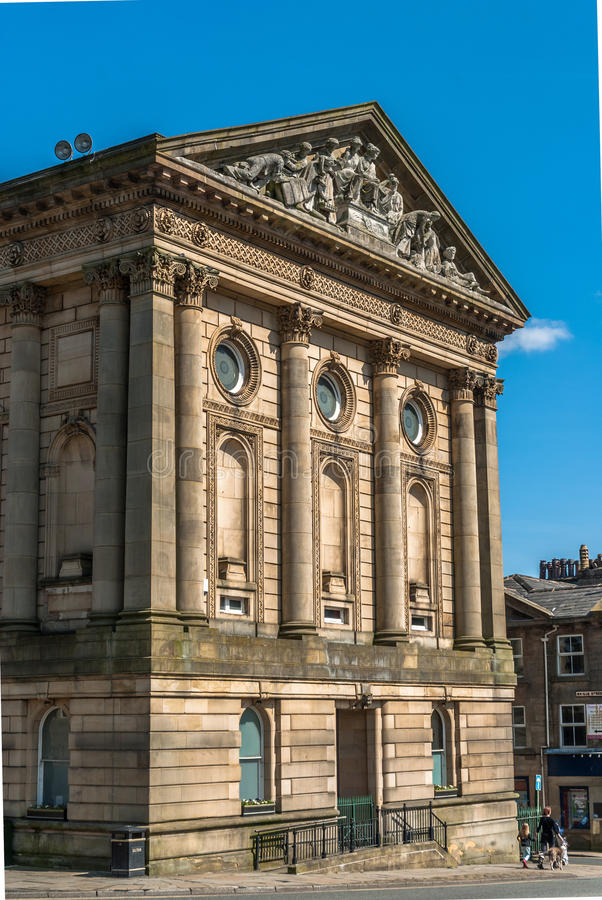 Download Todmorden Town Hall stock image. Image of calderdale - 40014335