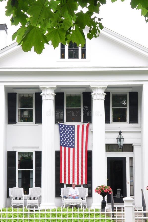 Todo el hogar americano fotos de archivo