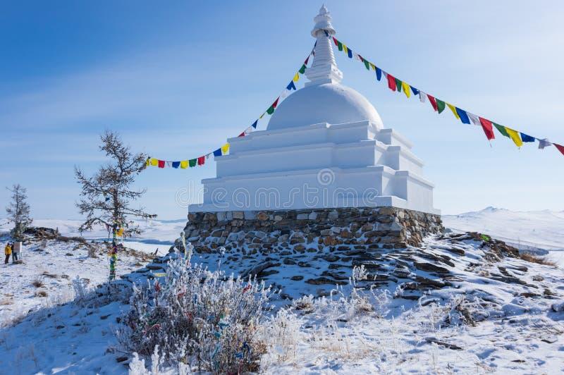 Todo o Stupa auspicioso de Great Awakening imagens de stock royalty free