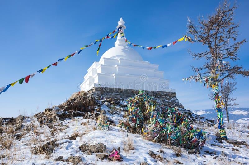 Todo o Stupa auspicioso de Great Awakening fotografia de stock royalty free