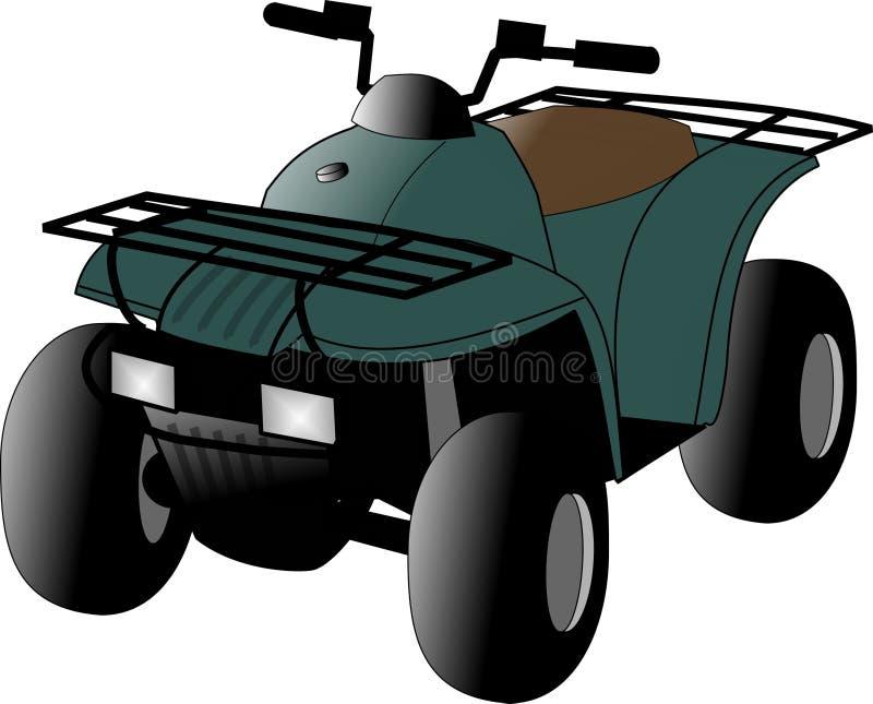 Todo o veículo do terreno ilustração stock