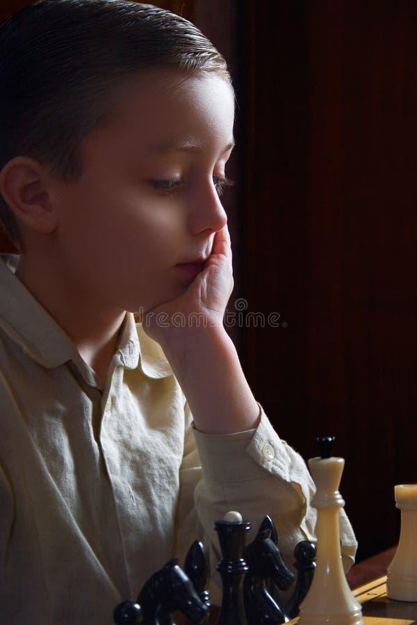 Todo sobre un chess-1 imagen de archivo