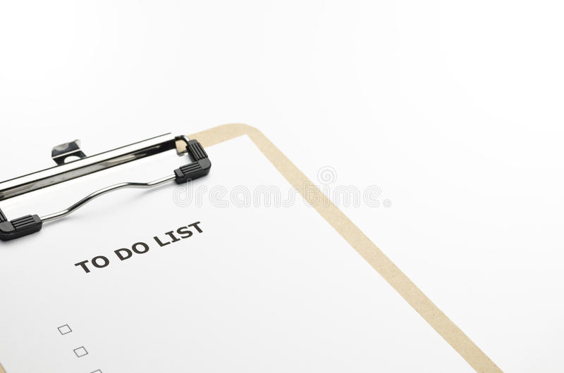 Download Todolist Beije Royalty Free Stock Images - Image: 21638279