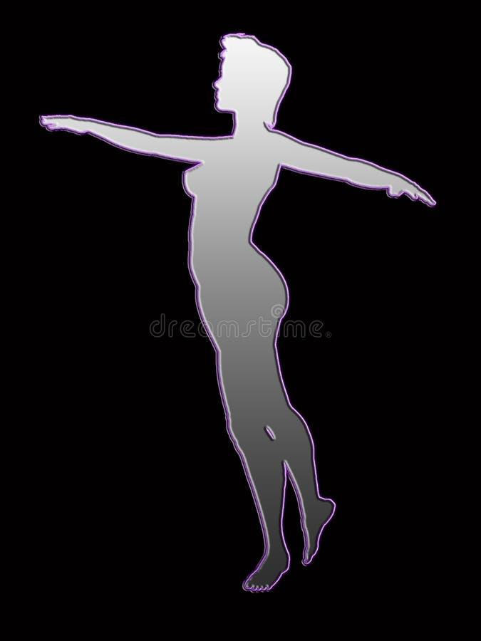 Download Todos dança ilustração stock. Ilustração de esboço, bonito - 125308