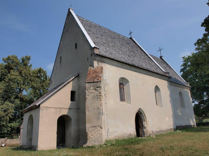 Todos los santos iglesia, Szydlow, Polonia foto de archivo