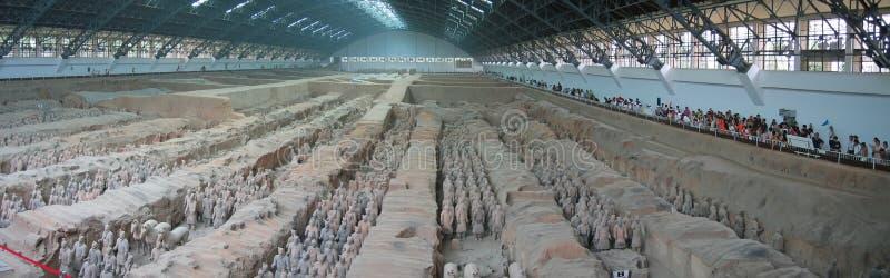 Todos os guerreiros do terracotta foto de stock royalty free
