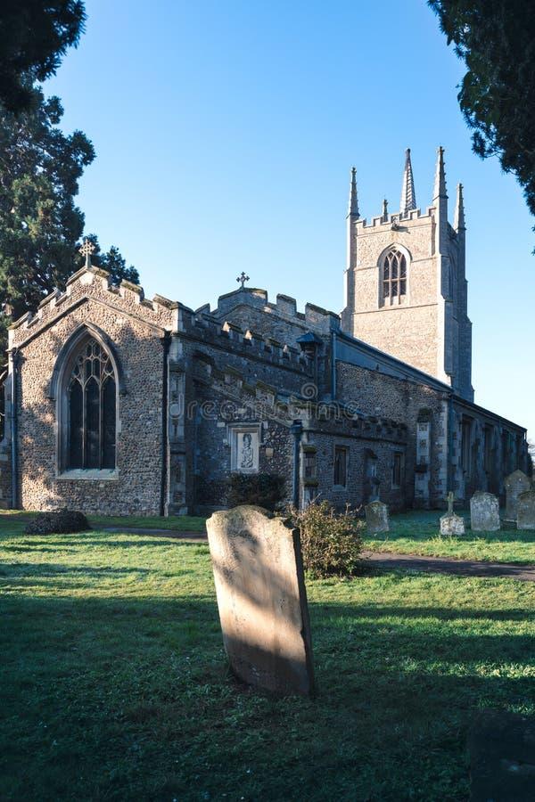 Todos os Saint igreja, Inglaterra imagem de stock royalty free
