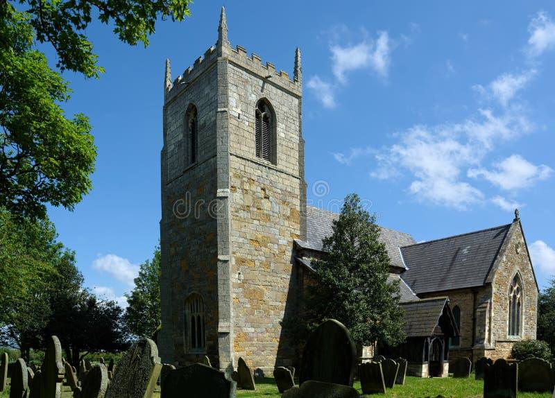 Todos os Saint igreja, Winteringham, Lincolnshire foto de stock royalty free