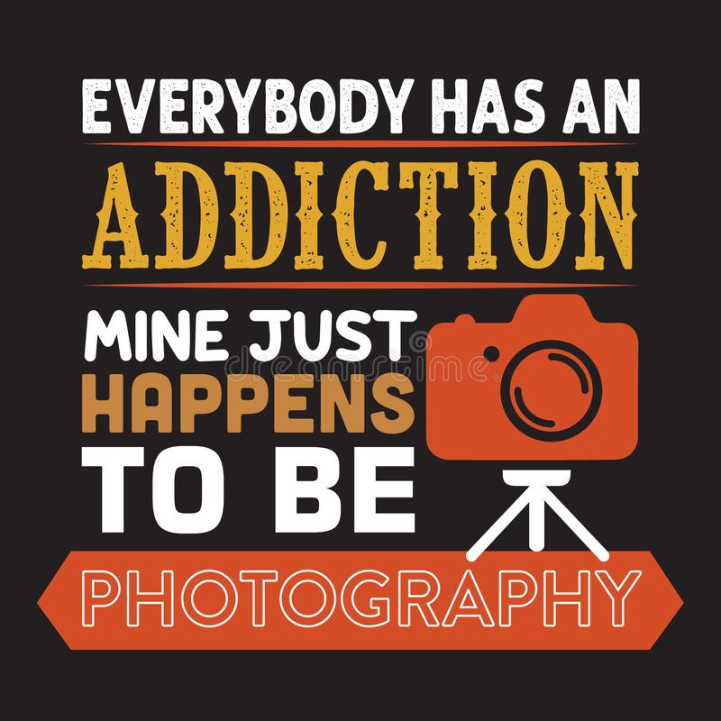 Todos tiene mina del apego sucede ser fotografía stock de ilustración