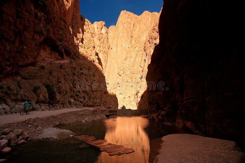 Todra Canyon stock photos