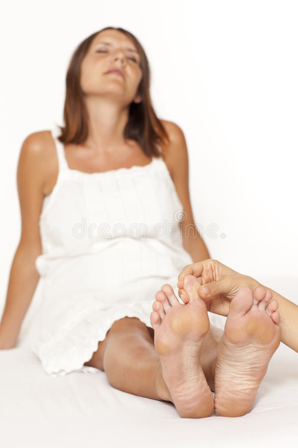 Download Toe Massage Royalty Free Stock Image - Image: 22390946