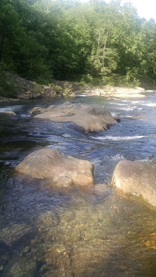 Toe River del sur fotografía de archivo libre de regalías