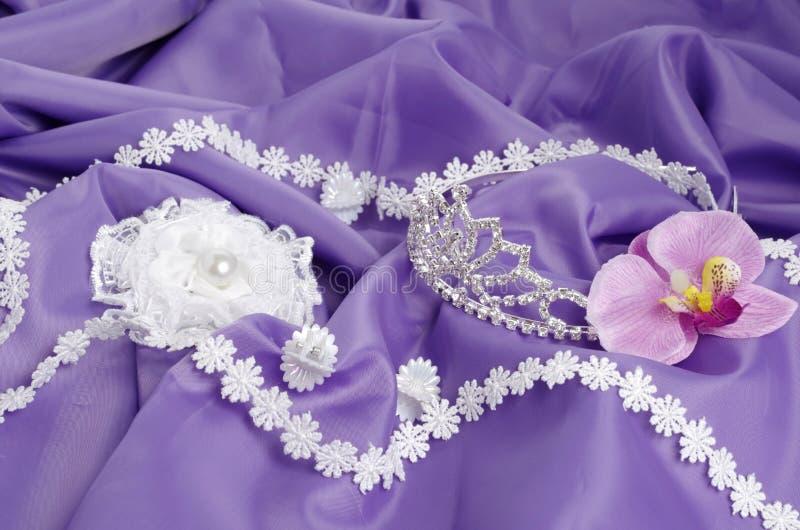 Toebehoren voor prom royalty-vrije stock foto's
