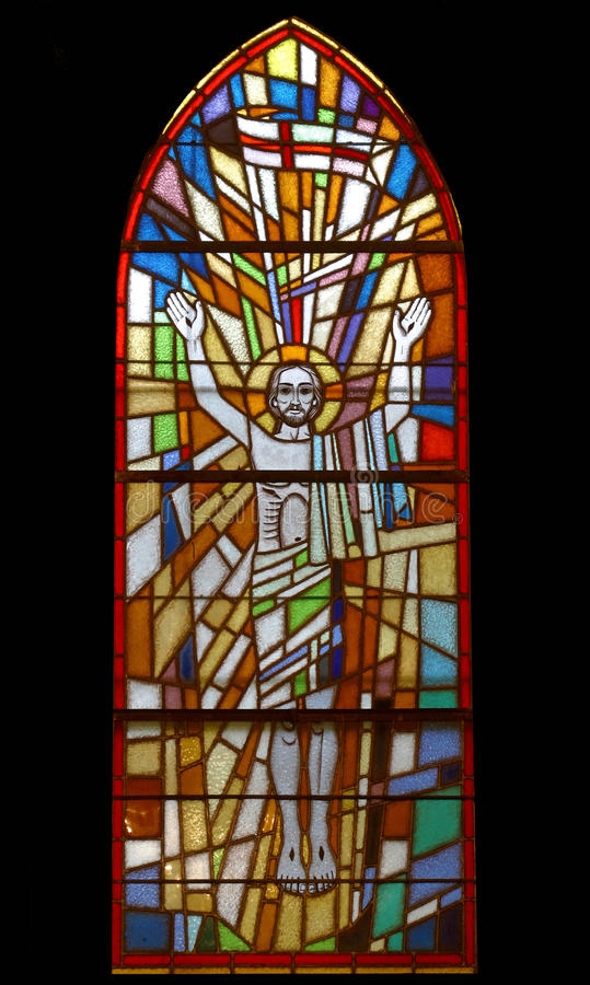 Toegenomen Christus stock afbeelding