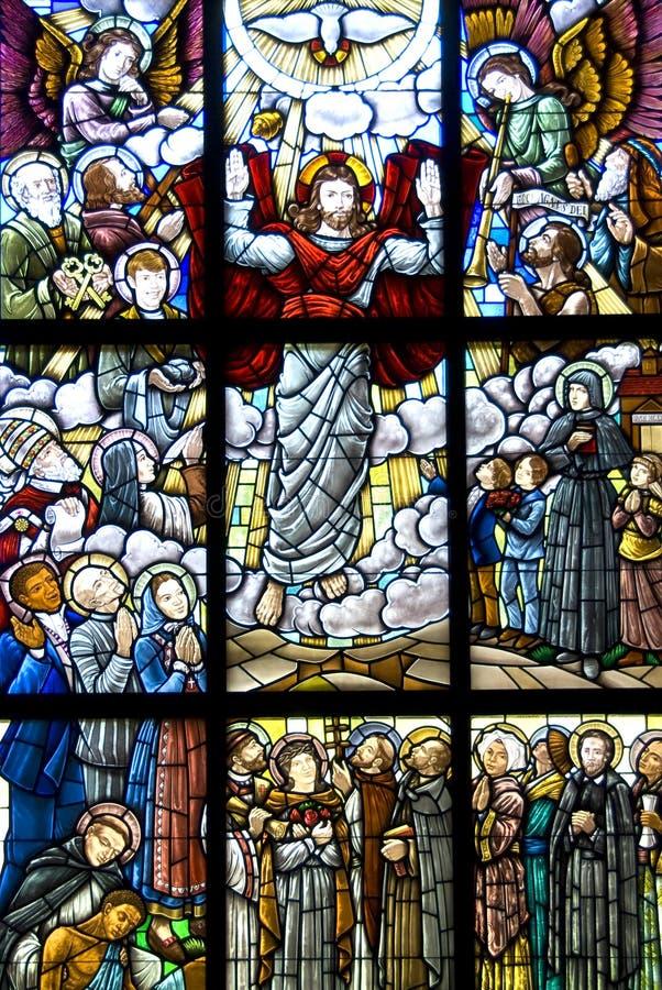 Toegenomen Jesus-Christus stock foto