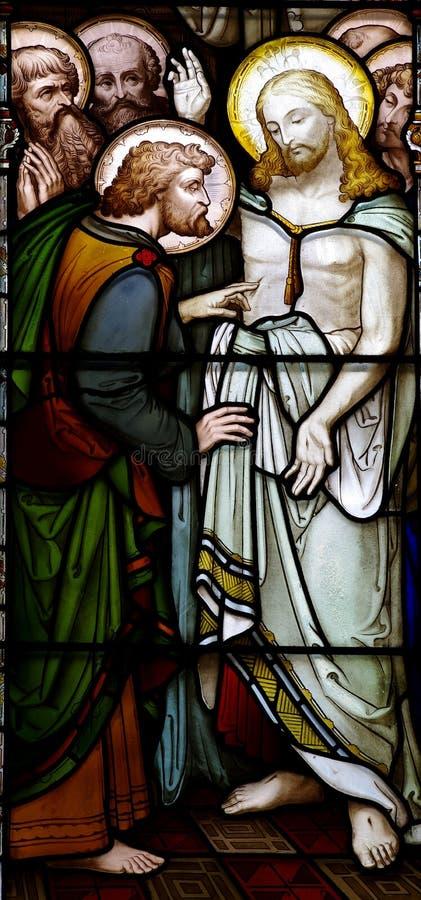 Toegenomen Jesus met Mary Magdalene royalty-vrije stock foto's
