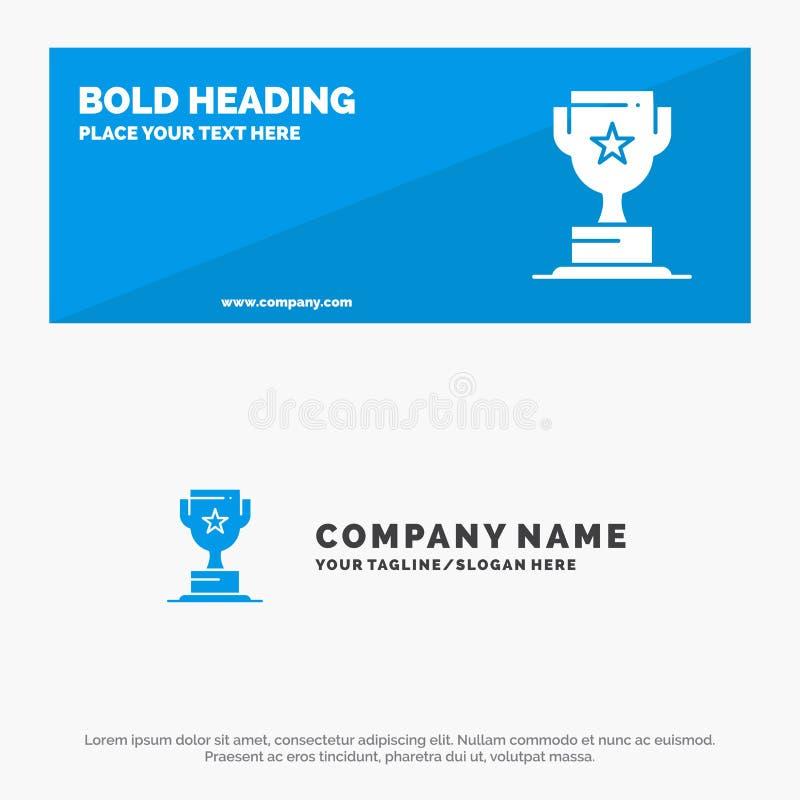 Toekenning, Kop, Zaken, Marketing de Stevige Banner en Zaken Logo Template van de Pictogramwebsite stock illustratie