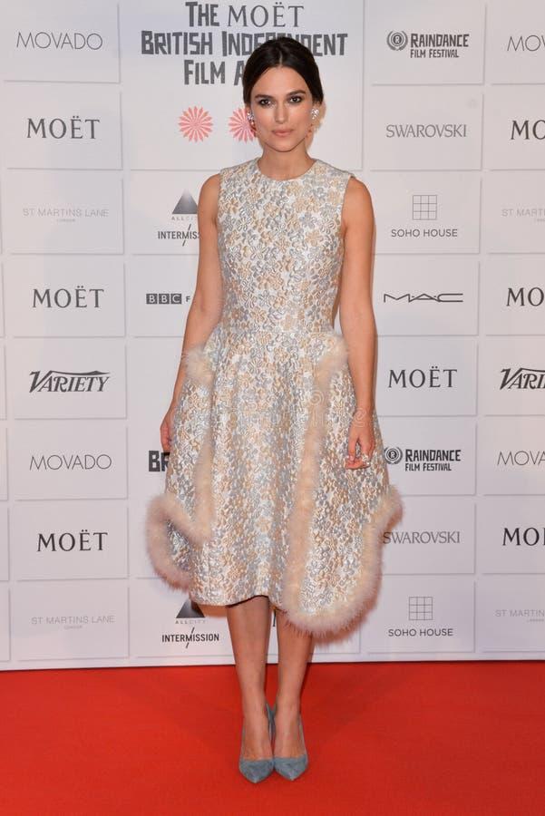 """Toekenning 2014 van de Moà """"t de Britse Onafhankelijke Film royalty-vrije stock foto"""