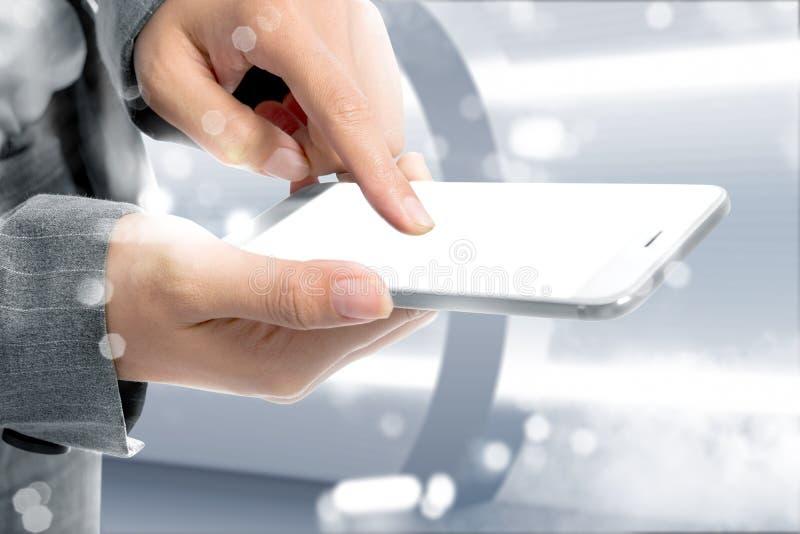 Toekomstig technologieconcept stock afbeelding