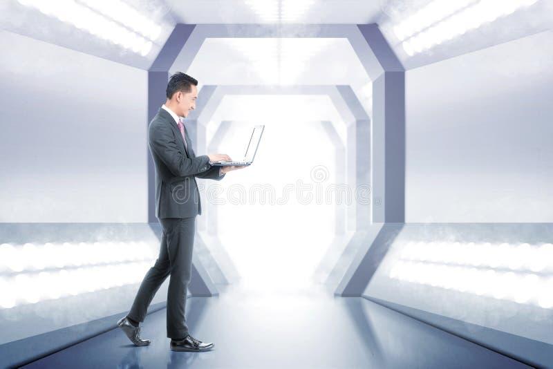 Toekomstig technologieconcept royalty-vrije stock foto