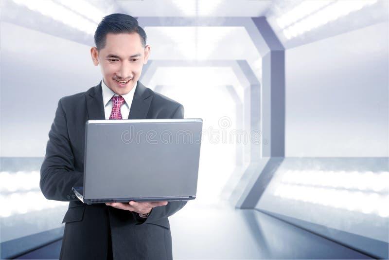 Toekomstig technologieconcept stock foto's