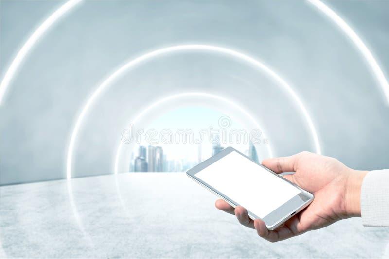 Toekomstig technologieconcept royalty-vrije stock afbeeldingen