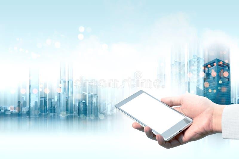 Toekomstig technologieconcept royalty-vrije stock afbeelding