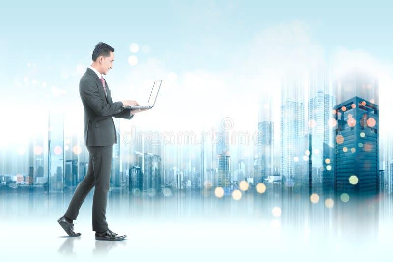 Toekomstig technologieconcept royalty-vrije illustratie